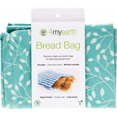 4MyEarth Bread Bag Leaf - 30x40cm - A Zest for Life