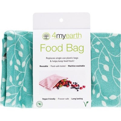 4MyEarth Food Bag Leaf - 25x20cm - A Zest for Life
