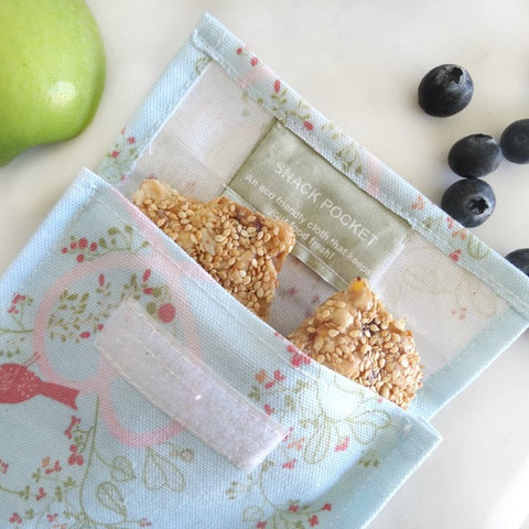 4MyEarth Reusable Food Pocket - Love Birds
