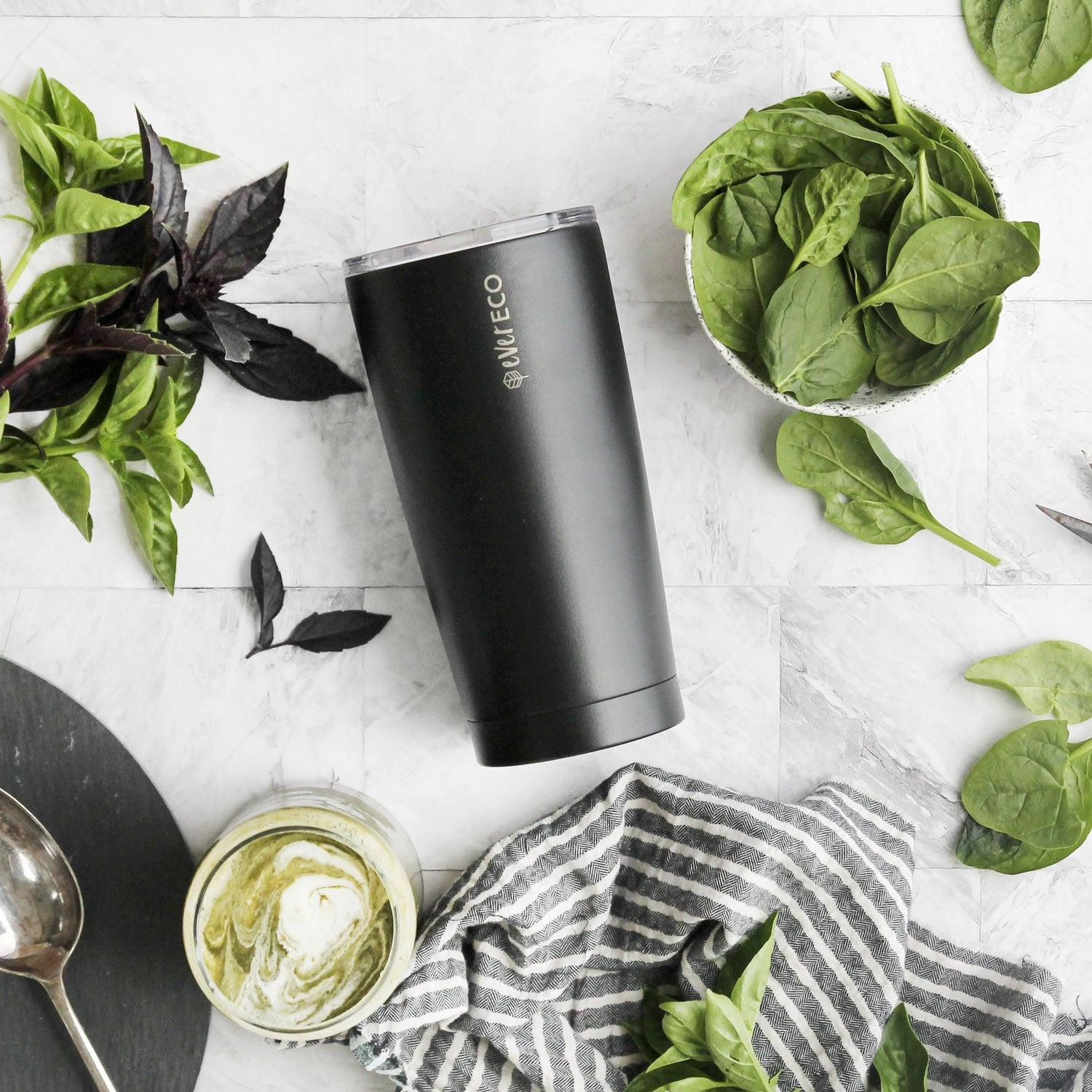 Ever Eco Insulated Tumbler - Onyx 592ml