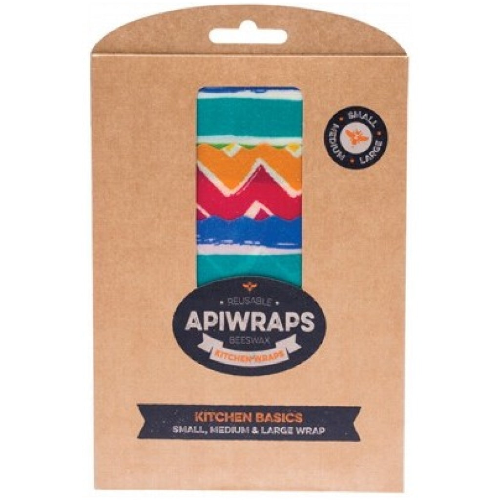 Apiwraps Reusable Beeswax Wraps - Kitchen Basics - A Zest for Life