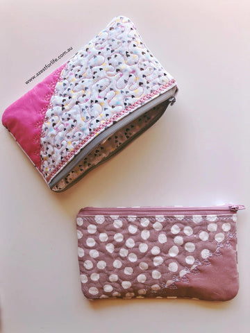 Aunty Moo Accessory Purse - A Zest for Life