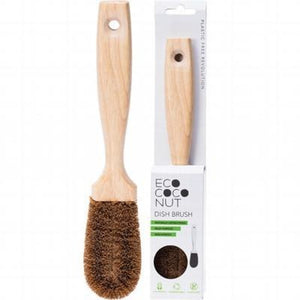 EcoCoconut Kitchen Cleaning Brush - A Zest for Life