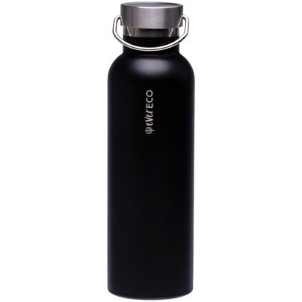 Ever Eco Stainless Steel Bottle Insulated - Onyx 750ml - A Zest for Life