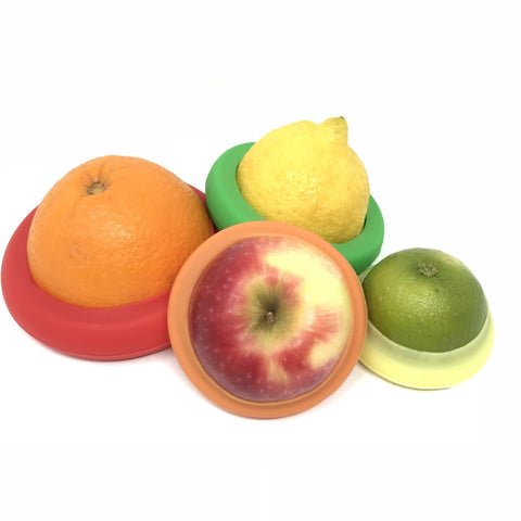 Little Mashies Reusable Food Fresh Lids - Pack Of 4