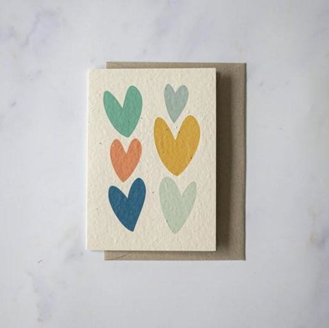 Plantable Cards - Lovehearts