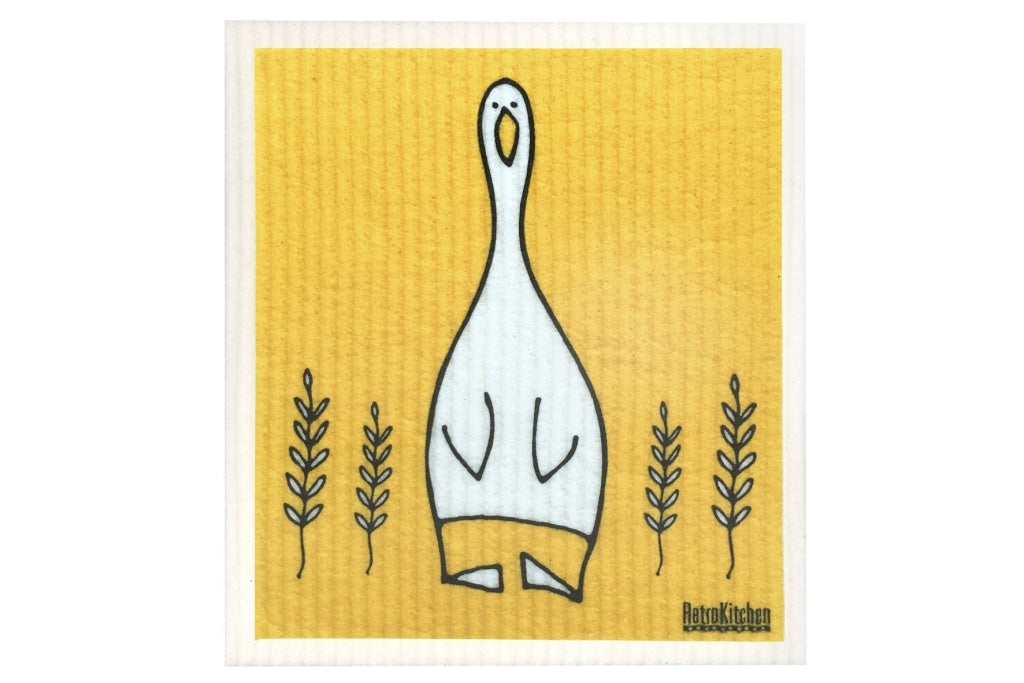 Retrokitchen - Biodegradable Dishcloth Duck