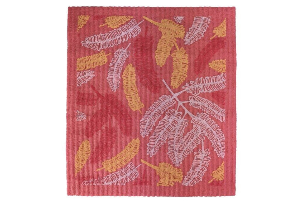 Retrokitchen - Biodegradable Dishcloth Poinciana Leaves