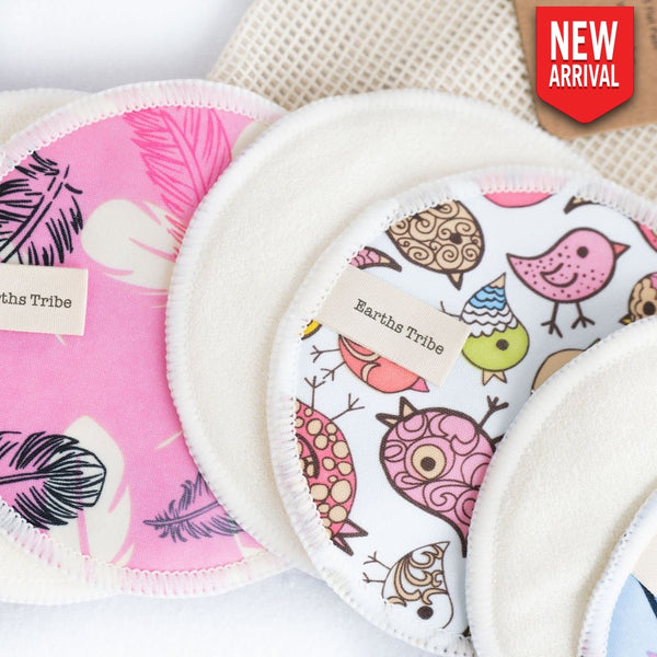 Reusable Breast Pads - 5 Pack