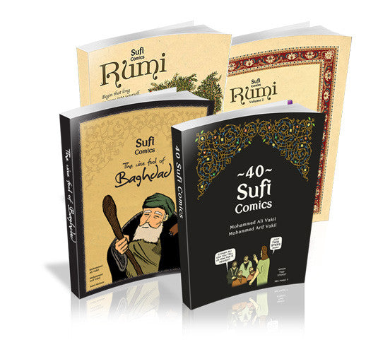 Complete Sufi Comics Collection