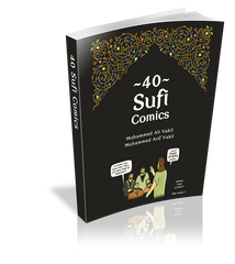 40 Sufi Comics (Colour edition)