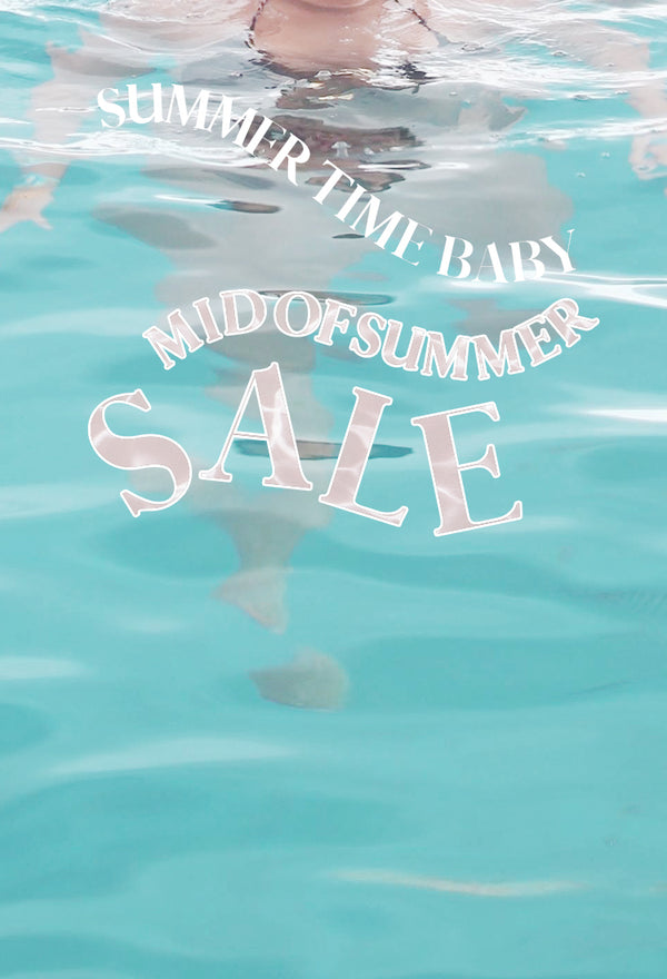 【MID OF SUMMER SALE】8/14-8/16 10%OFF&POINT UP‼️