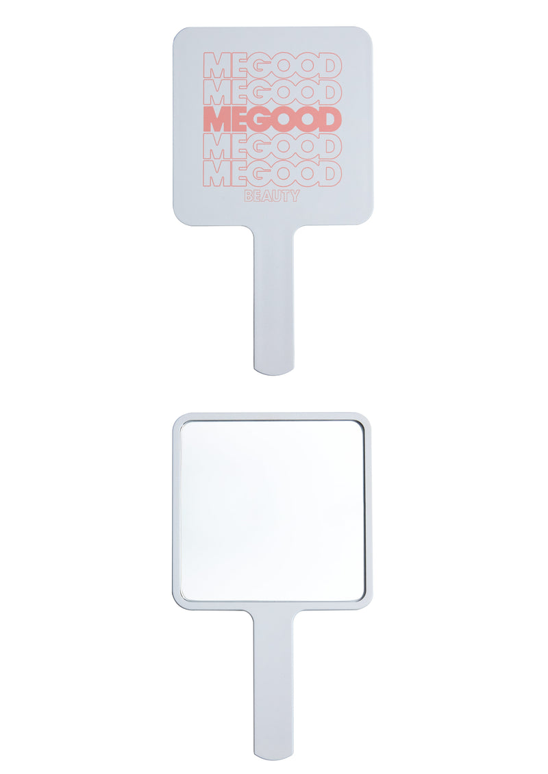 HAND MIRROR - WHITE, SMALL