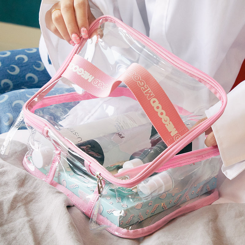 CLEAR POUCH - LARGE
