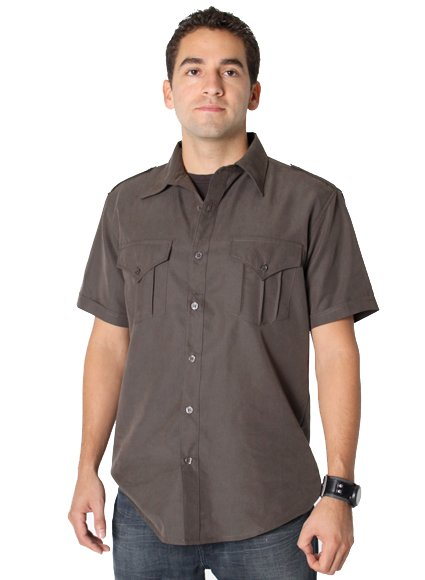 Defendant Button Down Shirt