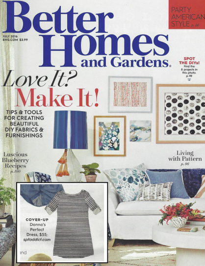 spfaddict featured in Better Homes