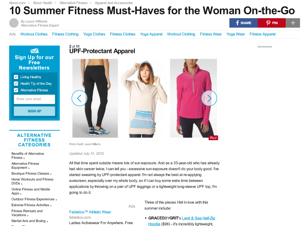 10 Summer Fitness Must Haves for Women on the Go
