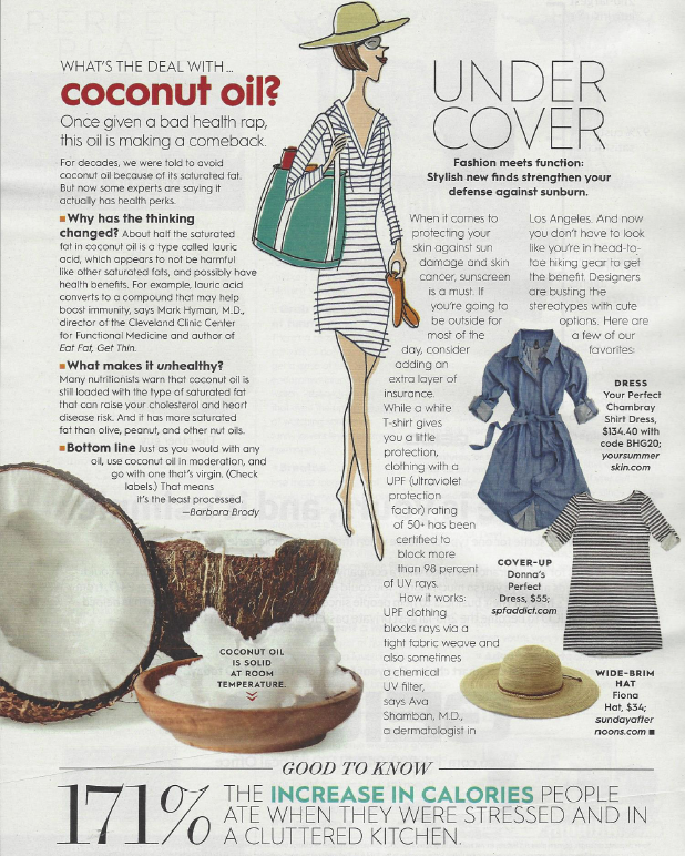 SPF Addict's Sunprotective Dress Featured in Better Homes