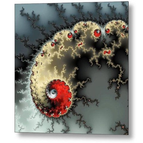 Fractal Art Metal Prints