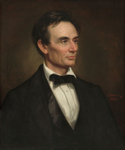 Abraham Lincoln Portrait - George Peter Alexander Healy