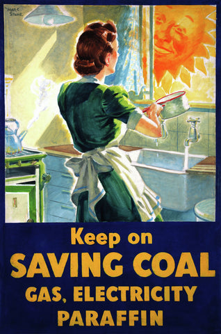 Save Fuel American Home Front Poster for sale