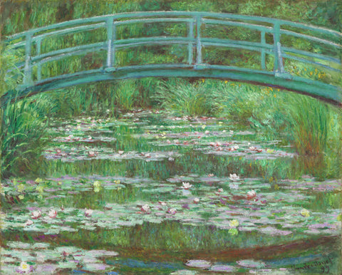 Claude Monet - The Japanese Footbridge