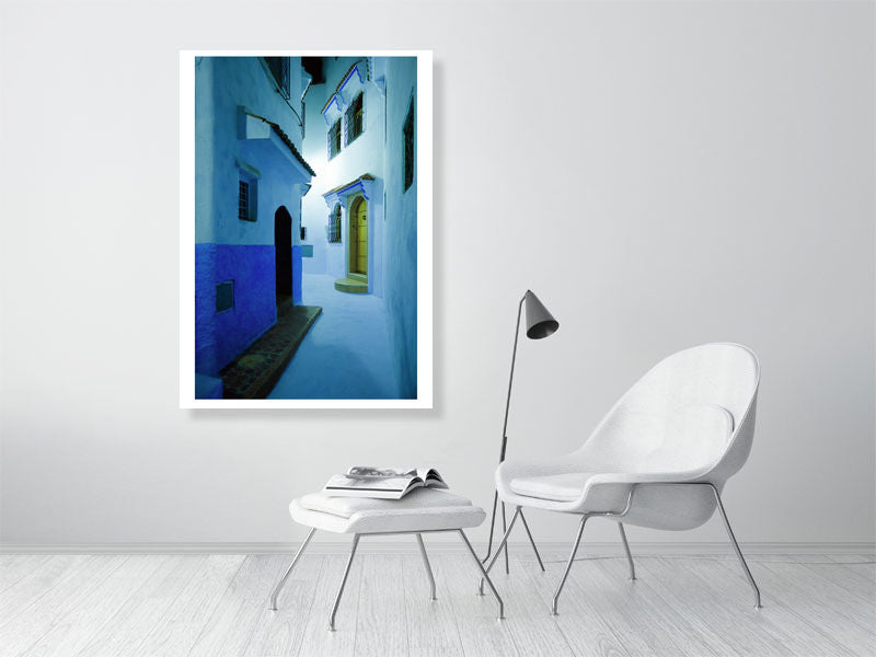 Night in Chefchaouen by Tom Arne Hanslien Limited Edition Fine Art Print (84x119cm)