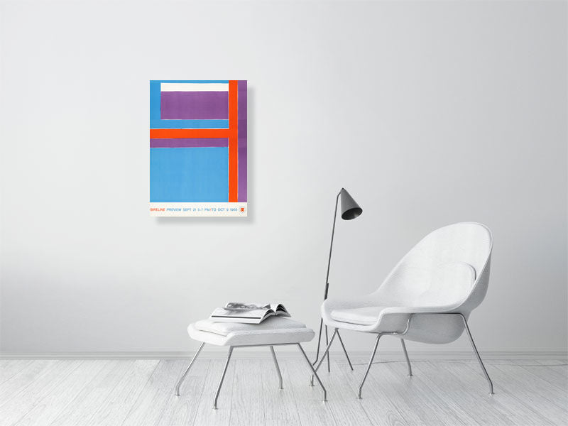 George Bireline Exhibition Art Print