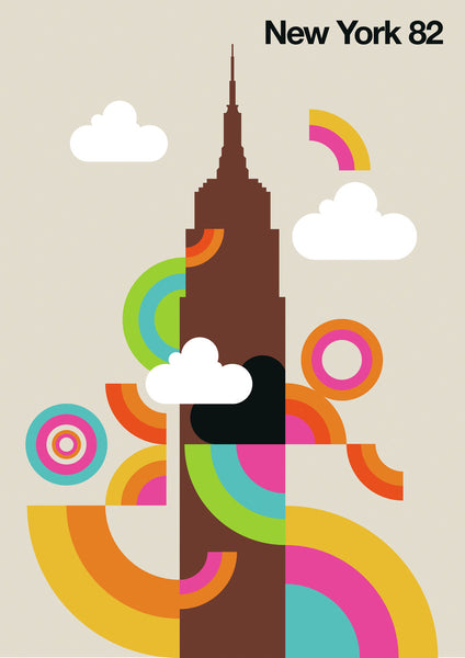 New York 82 Modern Vintage Design by Bo Lundberg