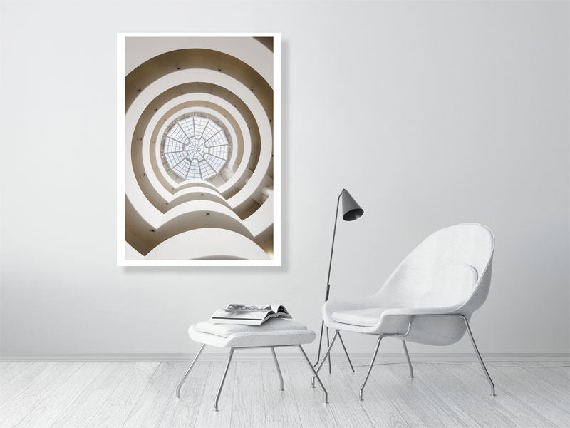 Guggenheim Interior by Tom Arne Hanslien Limited Edition Print (84x119cm)