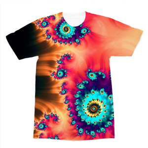 Fractal Art Premium Sublimation Adult T-Shirt