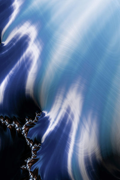Coast and Ocean 01 Fractal Art by Matthias Hauser Limited Edition Prints
