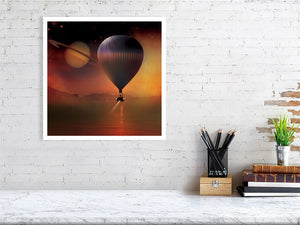 Balloon Over Titan