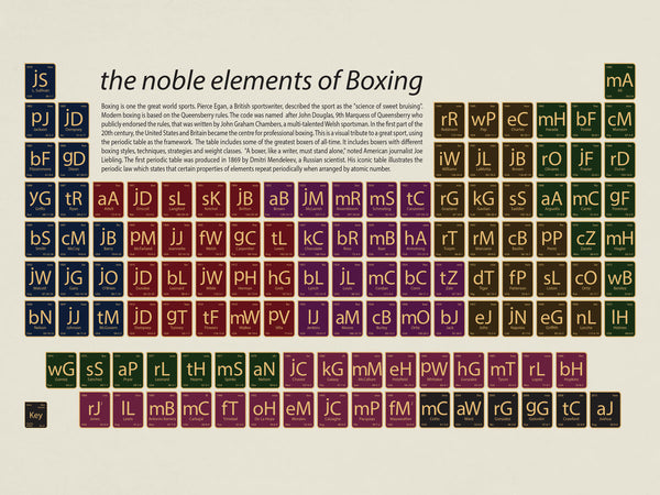 The noble elements of Boxing by Johnny Andreas