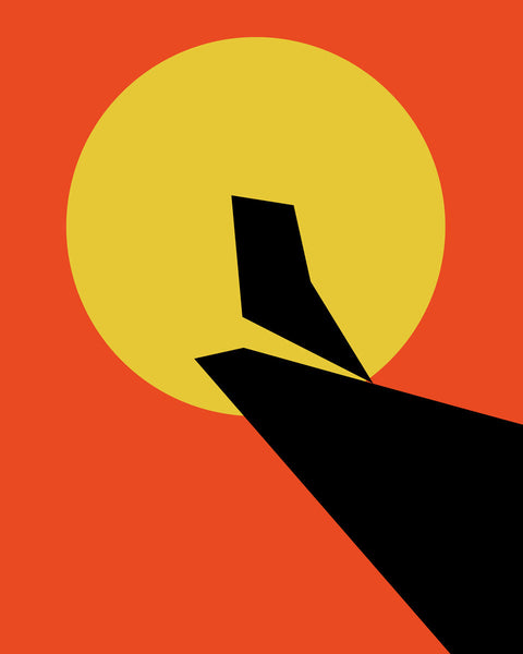 Minimalist Movie Poster by Gabby Kere