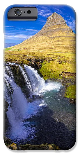 Amazing Kirkjufell Waterfall Iceland - Phone Case