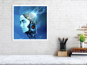 Artificial Intelligence - Art by Andy Potts