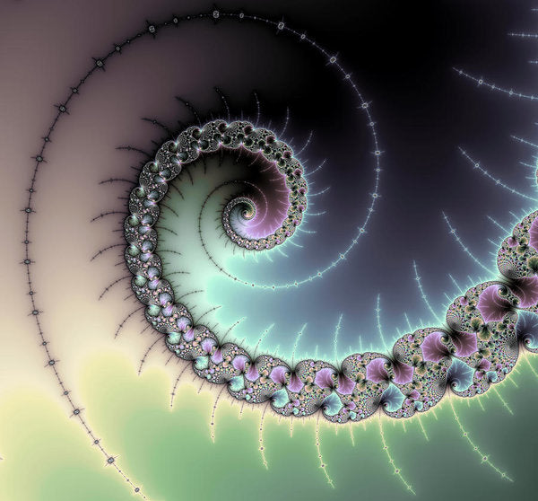 Beautiful Mandelbrot Fractal - Spiral - Art Print