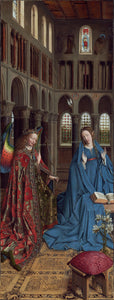 Jan van Eyck - The Annunciation - Fine Art Print