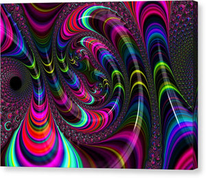 Colorful Fractal Art - Canvas Print