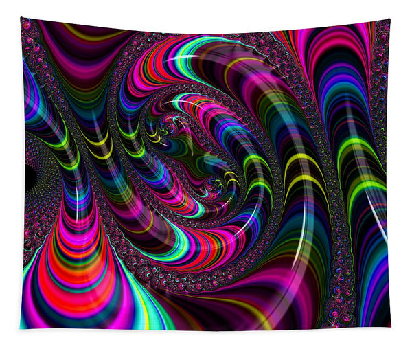 Colorful Fractal Art - Tapestry