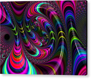 Colorful Fractal Art - Acrylic Print