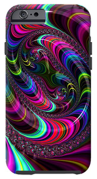 Colorful Fractal Art - Phone Case