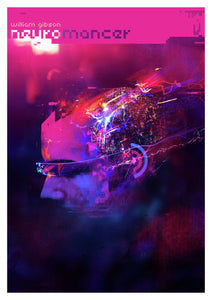 Neuromancer Poster - Art by Andy Potts