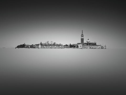 Venice 38 - Black and White Photo by Tony Sellen - Art Print
