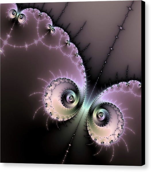 Encounter - Digital Fractal Artwork - Canvas Print