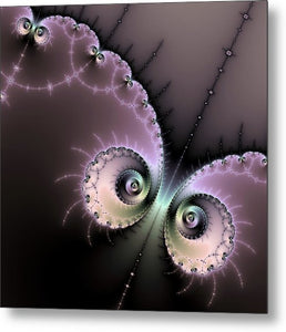 Encounter - Digital Fractal Artwork - Metal Print