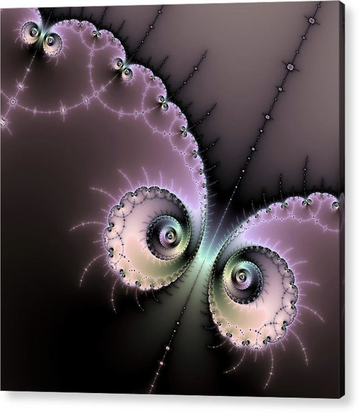 Encounter - Digital Fractal Artwork - Acrylic Print