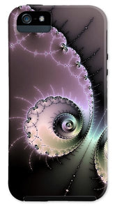 Encounter - Digital Fractal Artwork - Phone Case