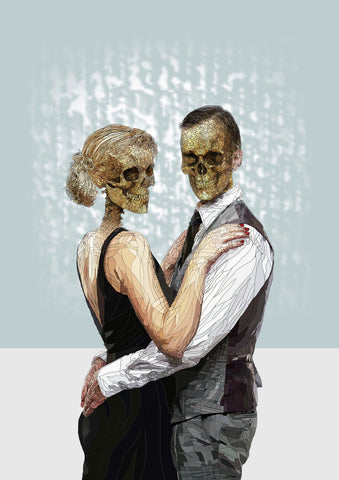The Danse Macabre by Paul Kingsley Square Limited Edition Print